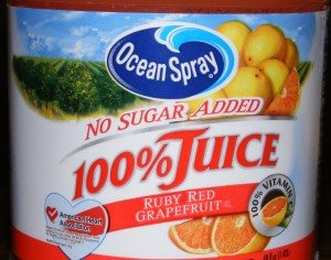 Ocean Spray 100% Juice