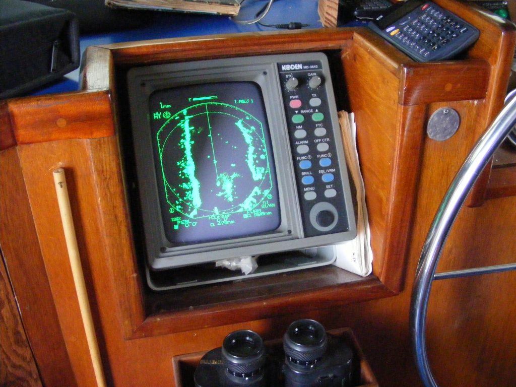 Kodan radar display.