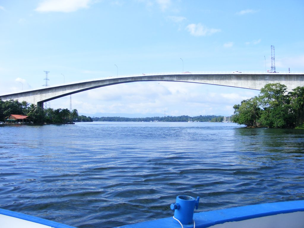 Bridge of the Rio Dulce at Fronteras